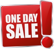 1 Day Only Sale